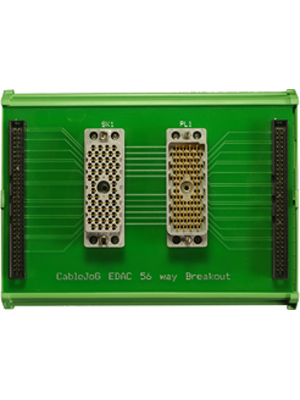 Adaptor / Breakout Male & Female EDAC 56way
